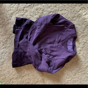 Lululemon Ruffled Up Pullover